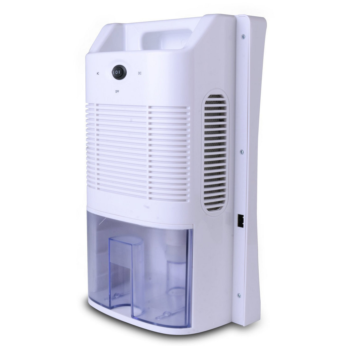 Electric compact dehumidifier auto w led light for home for Bathroom dehumidifier