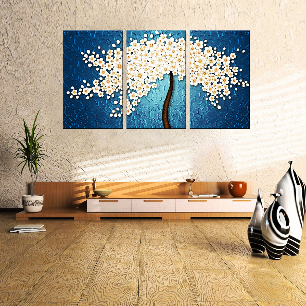 Unframed on canvas prints painting modern wall art home - Cuadros bonitos para salon ...