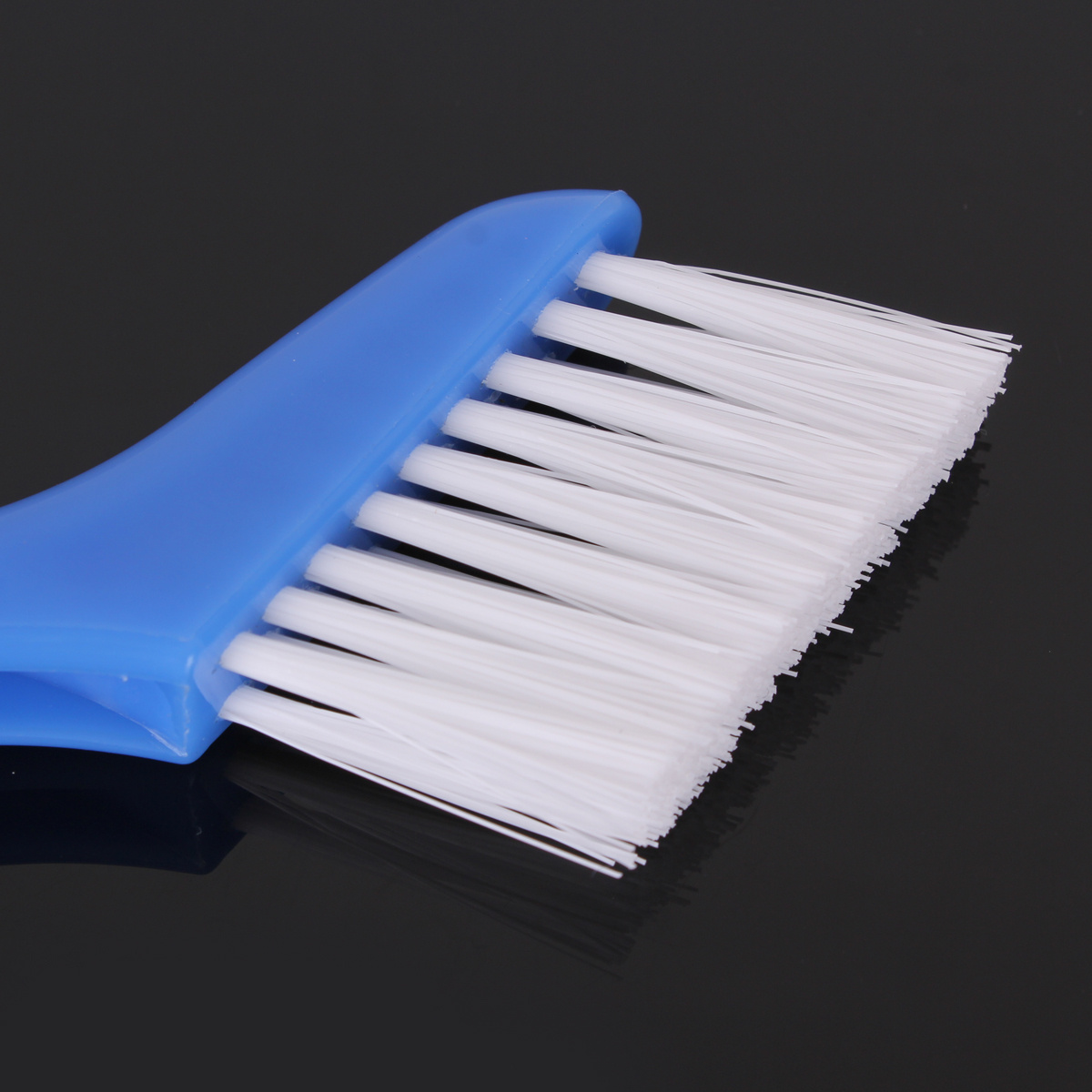 Folding Plastic Window Track Cleaning Brushes Sill Shower