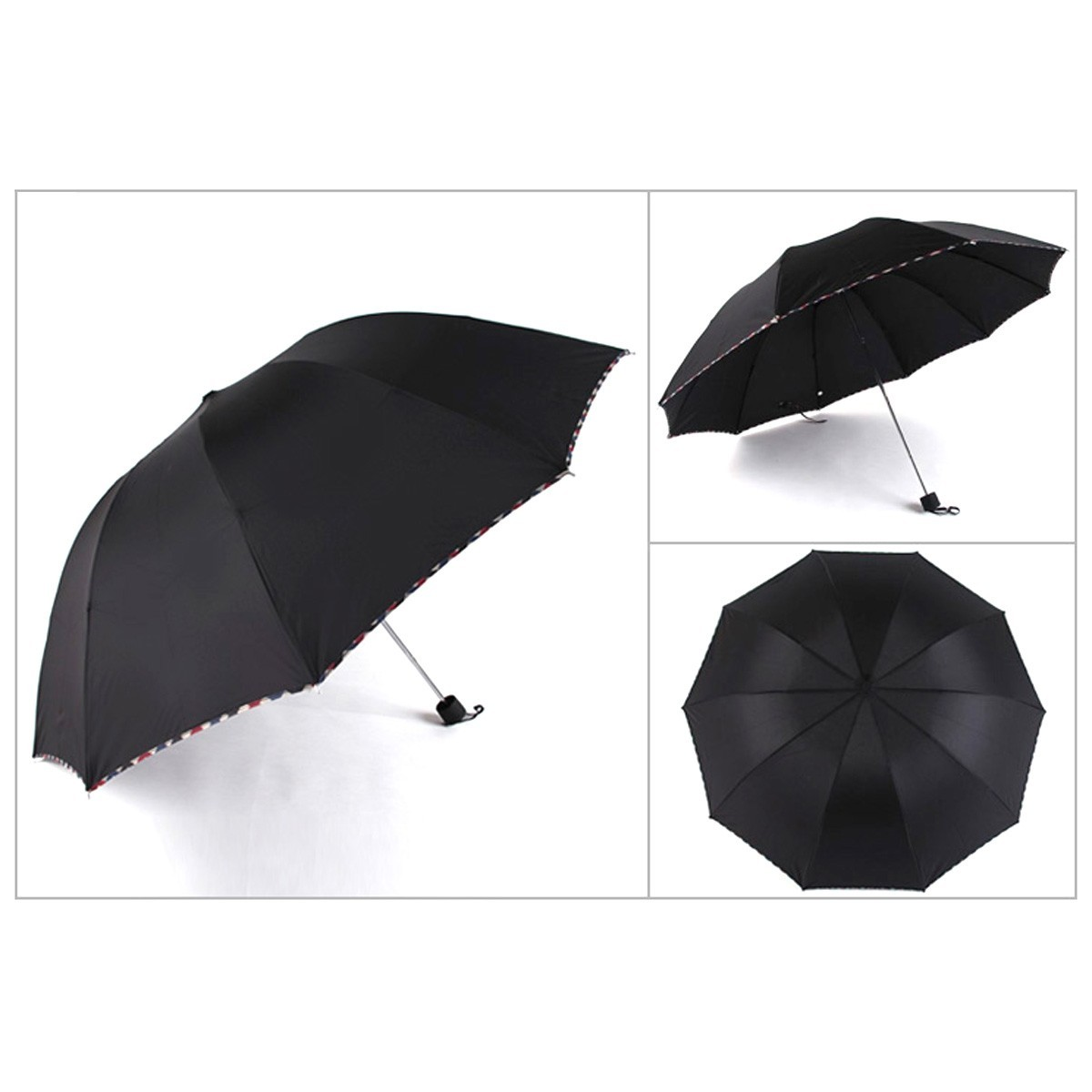 anti uv protection umbrella sun rain parasol compact. Black Bedroom Furniture Sets. Home Design Ideas