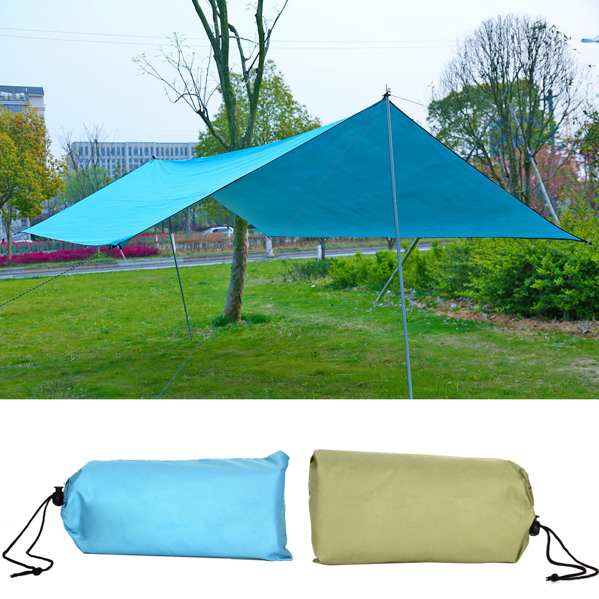 sun shade sail square 10 39 x10 39 waterproof uv block outdoor shelter canopy cover ebay. Black Bedroom Furniture Sets. Home Design Ideas
