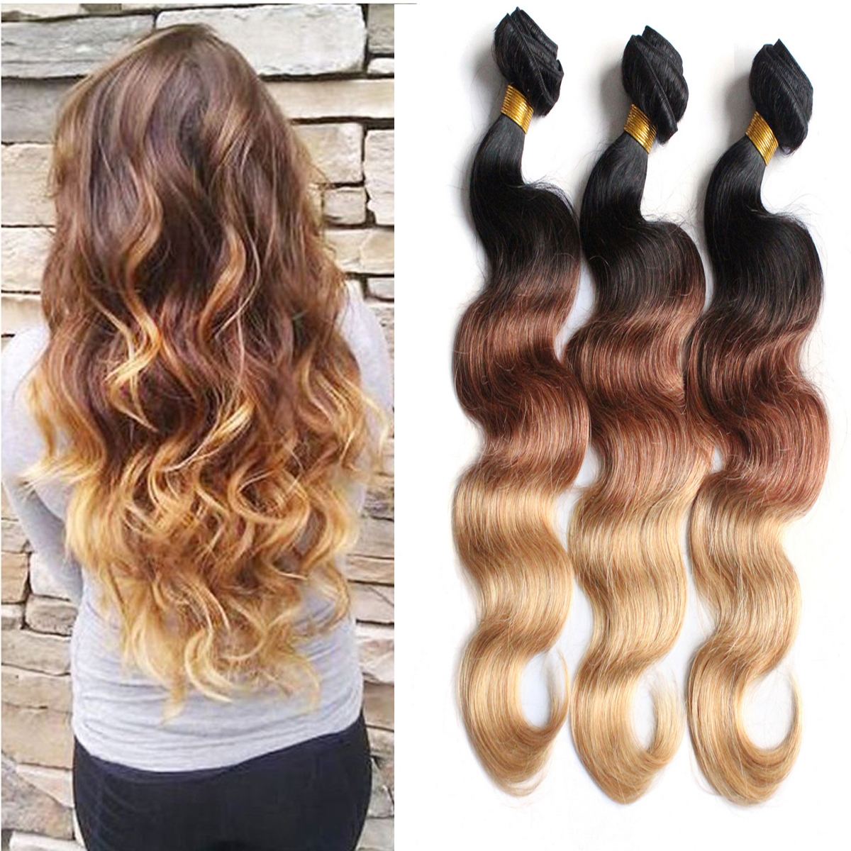 pictures of weavon hair styles 100g bundle wave human hair weave 6119